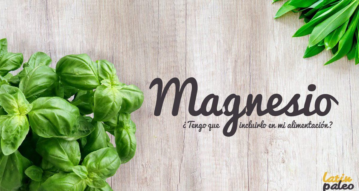 Magnesio ¿Tengo que incluirlo en mi alimentación?